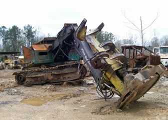 1995 Timberjack 628 Parts and Parts Machines