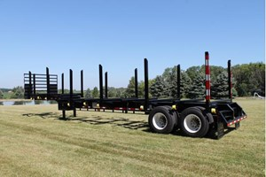 2017 Battle Wagon Trailers 12in Drop Frame  Trailer-Log