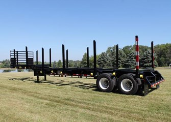 2017 Battle Wagon Trailers 12in Drop Frame Log Trailer