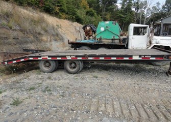 1999 Trail King Lowboy Trailer