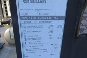 Sullair SRV-1400  Air Compressor