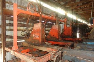 CMC 3 Head Block  Circular Sawmill