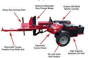 2019 Brute Force 20-24  Firewood Splitter