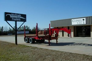 2016 McElrath Trailers 818T12T  Trailer-Log