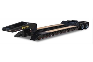 Kaufman Trailers 35 Ton Detachable Spring Ride  Trailer-Lowboy