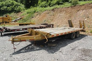 1987 Hurst Trailers 14ton  Trailer-Flatbed