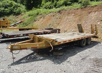 1987 Hurst Trailers 14ton Flatbed Trailer