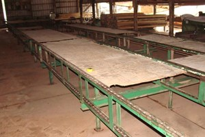 Unknown 78ft 4 Strand Green Chain  Conveyors Board Dealing