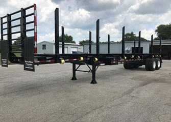 2017 Battle Wagon Trailers 42 x 102 Straight Frame Log Trailer
