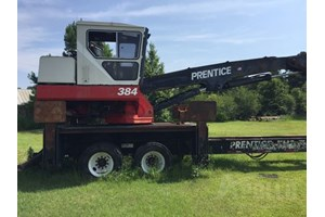 2001 Prentice 384  Log Loader Knuckleboom
