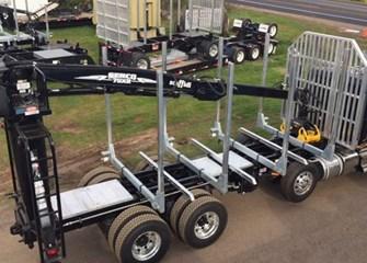 Galvastar LOG BUNKS Parts Truck