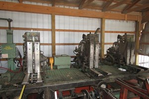 HMC Corp AC40, 13ft Carriage, 48ft Track  Circular Sawmill