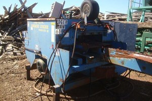 Brewer 20ft Single Strand, Twin 15hp Drives  Edgers-Slab