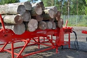 Hakki Pilke HakkiFeed 472  Firewood Processor