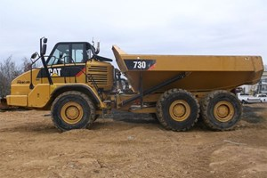 2013 Caterpillar 730  Articulated Dump Truck