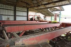 Morbark 17ft  4 strand  Conveyors Decks (Log Lumber)