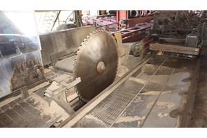 1998 Cleereman Industries 38in 4 Head  Circular Sawmill