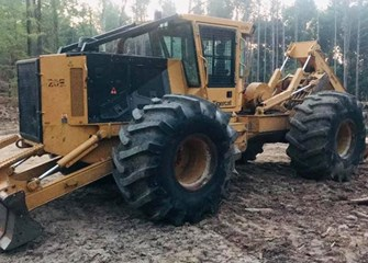 2017 Tigercat 620E Skidder