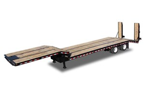 Kaufman Trailers Drop Deck  Trailer-Flatbed