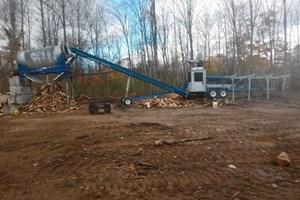 2015 Bells Machine P8000  Firewood Processor